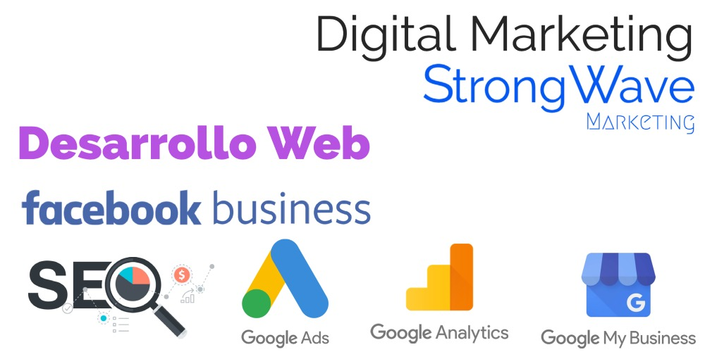Desarrollo Web Strong Wave Marketing